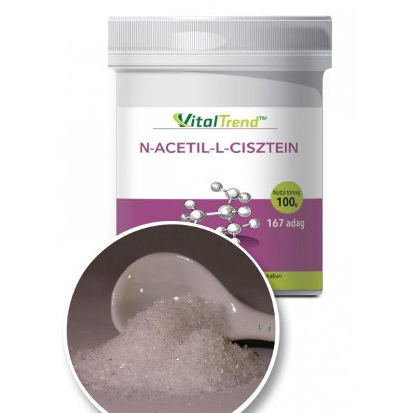 N-acetil-L-cisztein por - 100 g