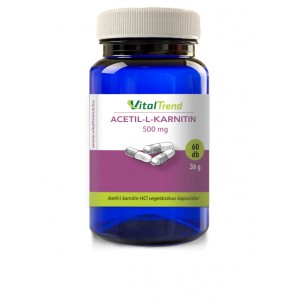 Acetil-L-Karnitin (ALC) kapszula 500mg - 60db