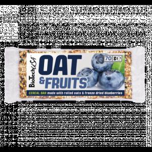 Oat&Fruits szelet 70g - Áfonya