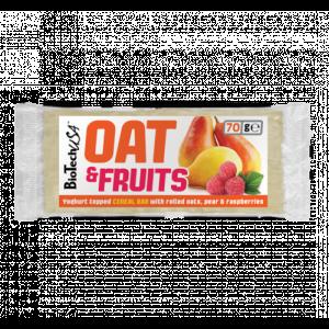 Oat&Fruits szelet 70g - Joghurtos körte-málna