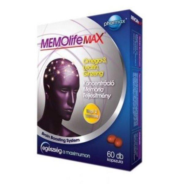 MEMOlife Max Agyvitamin kapszula - 60db