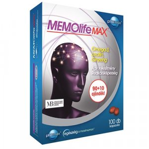 MEMOlife Max Agyvitamin kapszula - 100db