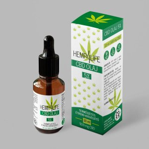 Hemp4Life CBD olaj 5% - 10 ml