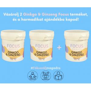 FOCUS 2+1 Ginkgo & Ginzeng kapszula