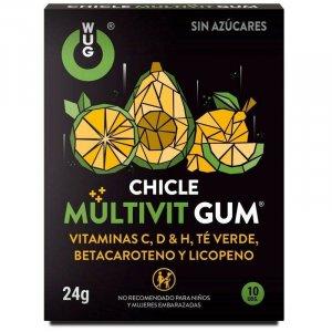 WUG MULTIVITAMINOS RÁGÓGUMI - 10DB