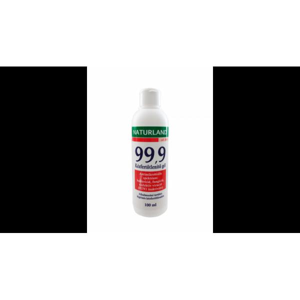 Naturland 99,9 Kézfertőtlenítő Gél - 100 ml