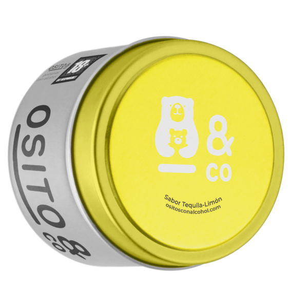 PRÉMIUM TEQUILA-CITROM ízű alkoholos gumicukor 100db