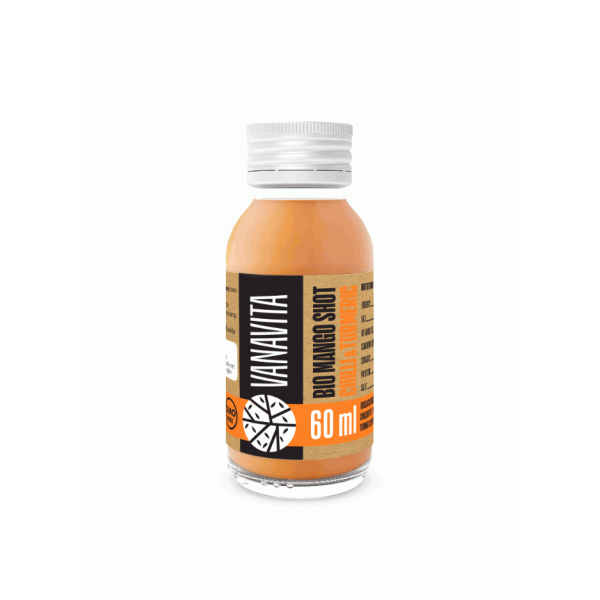 VanaVita Bio Mango shot Chili&Kurkuma- 60ml - GymBeam