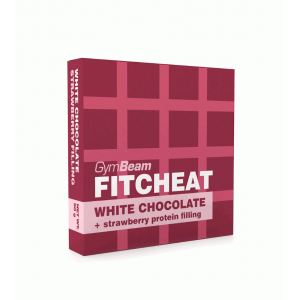 Fitcheat Protein Chocolate - 90g (epres fehércsoki) - GymBeam