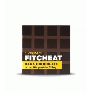 Fitcheat Protein Chocolate - 90g (fehércsoki kókusz) - GymBeam