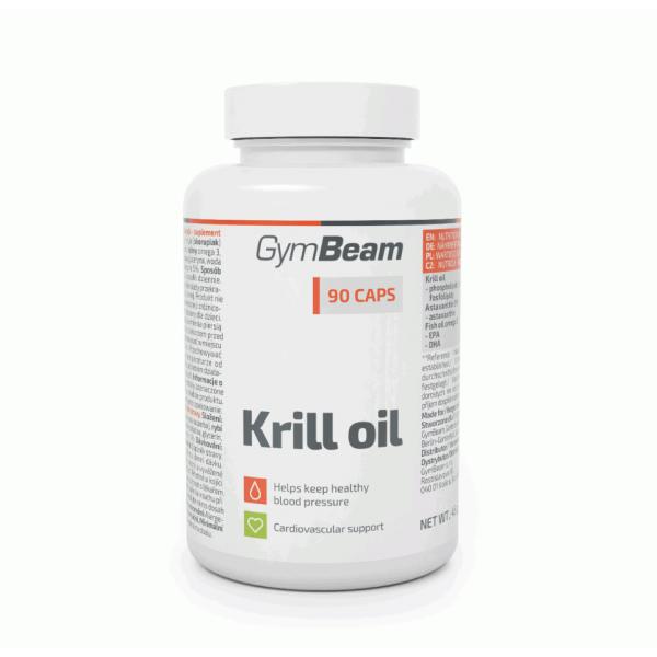 Krill olaj - 90db - GymBeam