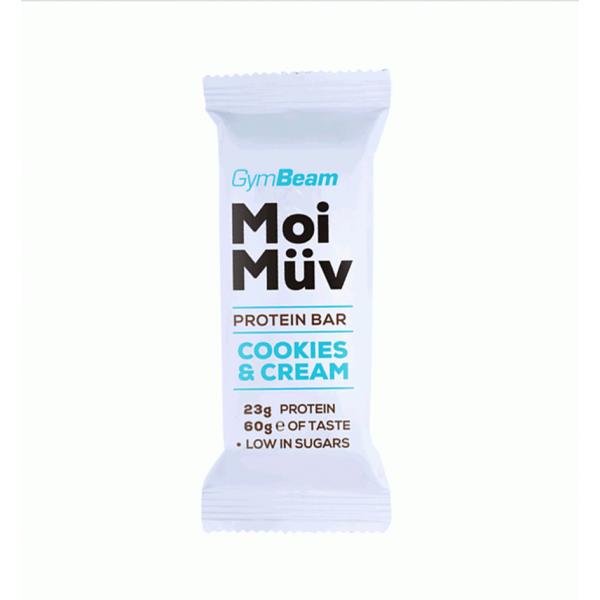 MoiMüv fehérjeszelet - 60g (krémes keksz) - GymBeam