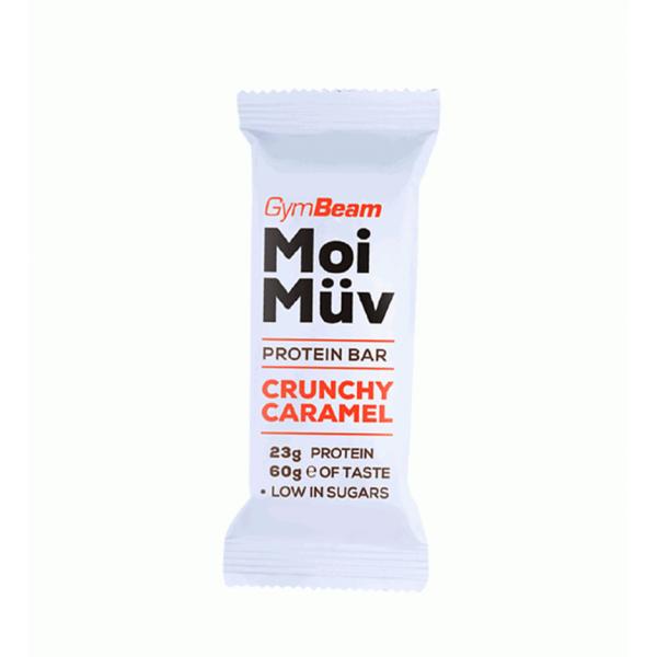 MoiMüv fehérjeszelet - 60g (ropogós karamell) - GymBeam