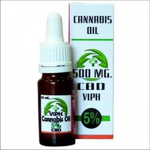 VIPH CBD olaj 5% - 10 ml