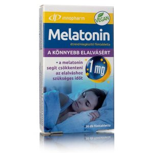 Melatonin Tabletta 1 mg - 30 db